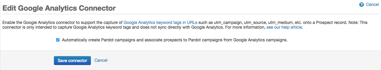 measure employee advocacy connect utm google analytics to pardot